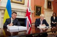 Зеленський закликав прем'єра Великобританії посилити санкції щодо Росії