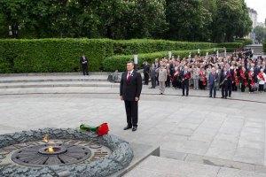 Украина почтила память освободителей Киева минутой молчания