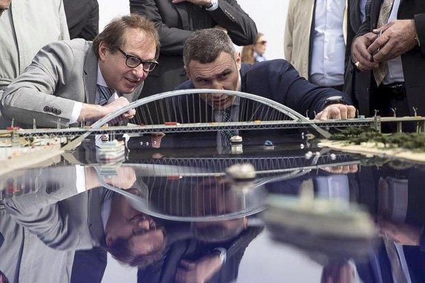 Киевский мост попал впособие для инженеров вГермании