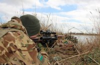 Прикордонники провели антитерористичні навчання на кордоні з окупованим Кримом