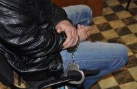 На території військової частини в Мелітополі затримали чоловіка без документів