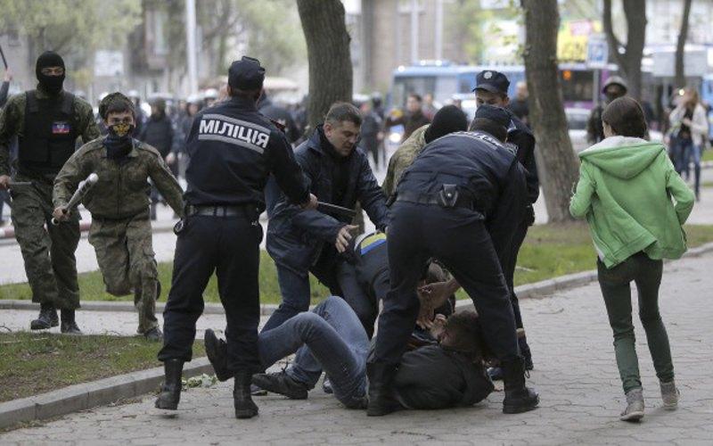 Донецьк, 28 квітня 2014