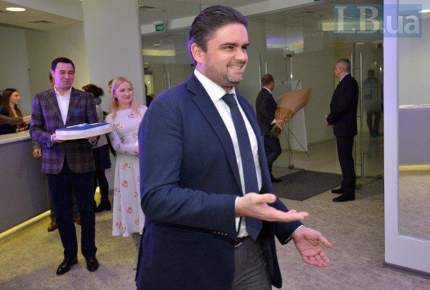 Маркиян Лубкивский (в центре)