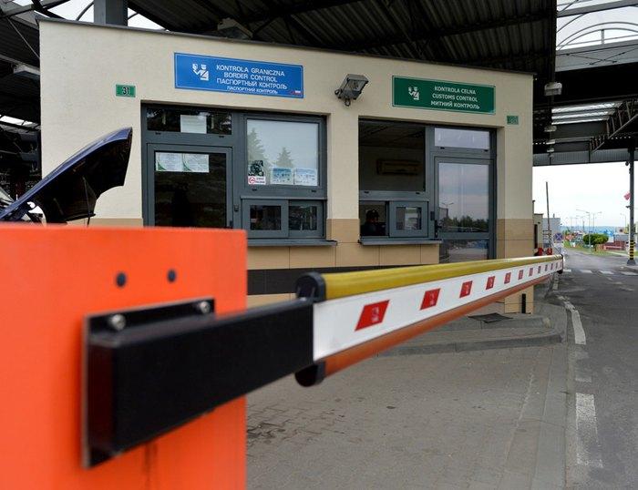 Контрольно-пропускной пункт на польско-украинской границе Шегини – Медыка