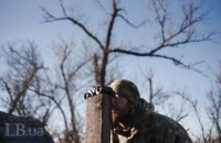 Один военнослужащий ранен на Донбассе за прошедшие сутки