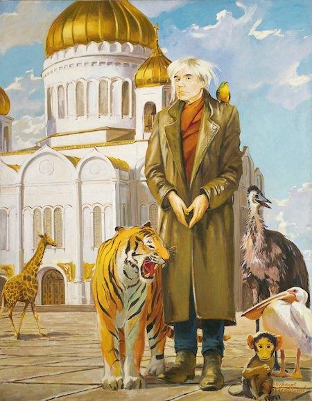 Дубоссарский и Виноградов. «Уорхол в Москве», 2000