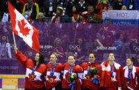 Канадці отримають $1,84 млн за медалі на ОІ-2014