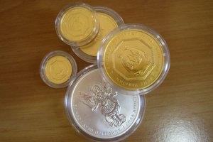 Инвестиционные монеты нбу цена династия бурбонов
