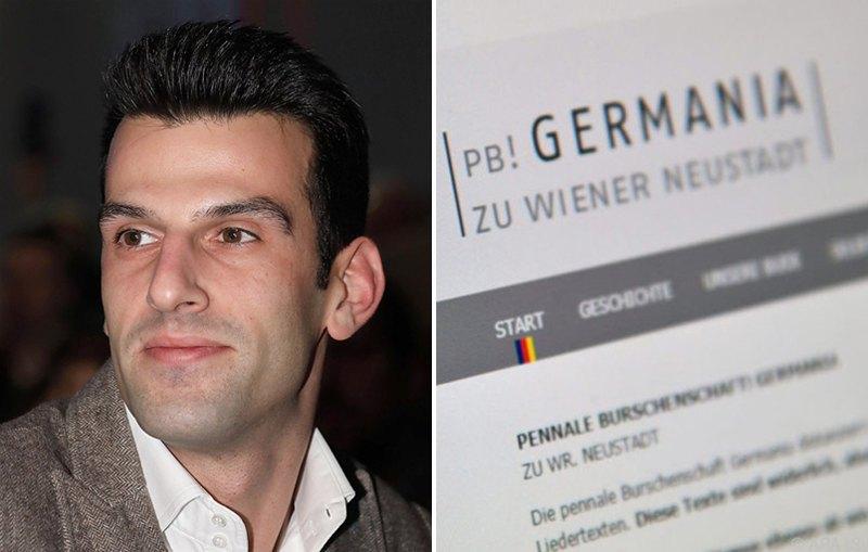 Удо Ландбауэр, Устав Germania zu Wiener Neustadt