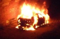 "В Броварах сожгли машину председателя ""УДАРа"""