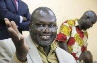 Лидер повстанцев Южного Судана занял пост вице-президента страны