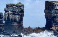 На Галапагоських островах впала Арка Дарвіна