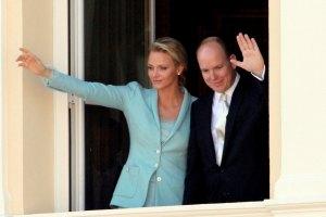 Князь Монако женился на олимпийской чемпионке