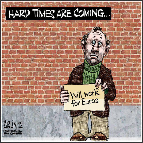 Готов работать за евро