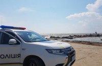 В Бердянске в штормящем море бабушка утонула, спасая внуков