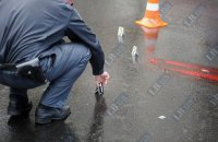 В ночном ДТП в Киеве пьяный водитель разбил 8 машин