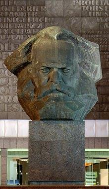 Монумент Карлу Марксу в Хемніці
