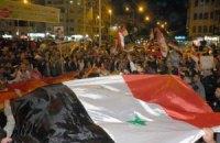 В Сирии тысячи демонстрантов потребовали отставки Президента