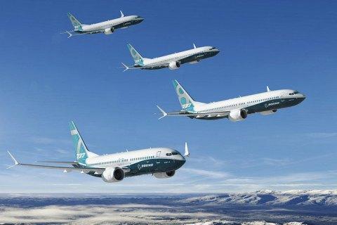 Украинская авиакомпания заказала 5 Boeing 737 Max за624 млн. долларов