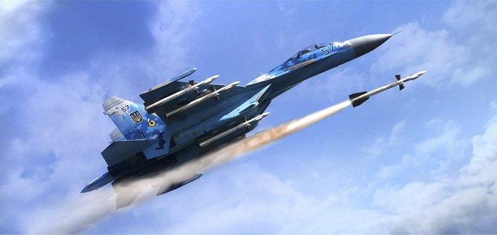 Р-27 – ракета класу «повітря-повітря» середньої дальності. Забезпечує перехоплення і знищення пілотованих і безпілотних літаків, а також крилатих ракет у дальньому та ближньому маневреному повітряному бою.