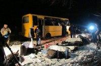У лікарнях перебувають 13 постраждалих під Волновахою