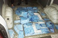Украинец пытался вывезти в Польшу более 10,5 тыс. медицинских масок