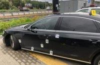 Обстрел автомобиля Шефира квалифицировали как покушение на убийство (фоторепортаж)