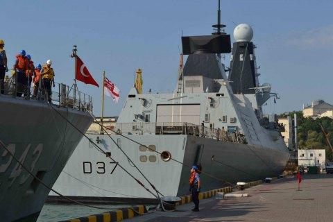 У порт Одеси прибули кораблі НАТО