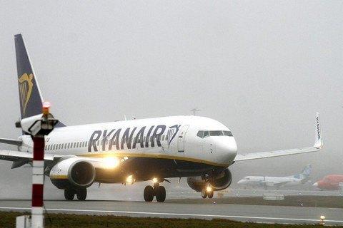Ryanair виконав перший рейс з Катовіце у Херсон
