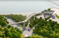 КГГА показала, как будет выглядеть мост между Владимирской горкой и аркой Дружбы народов