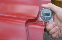 Як самостійно перевірити товщину металочерепиці?