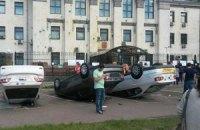 Хронология событий под российским посольством (добавлены ночные фото)