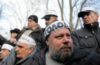 В Киеве группа чернобыльцев объявила голодовку