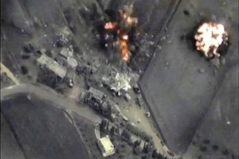Россия бомбит в Сирии повстанцев и мирных жителей