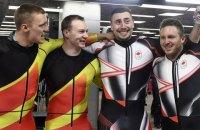 Канадские и немецкие бобслеисты поделили «золото» Олимпиады в заездах экипажей-двоек