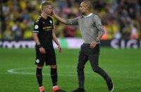 """Гвардиола раскритиковал слова Зинченко о победе """"Манчестер Сити"""" во всех турнирах"""