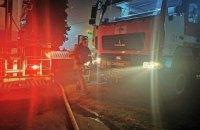 У Броварах сталася масштабна пожежа у житловій п'ятиповерхівці