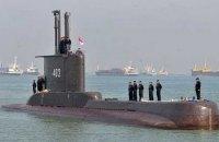 Зниклу індонезійську субмарину визнали затонулою