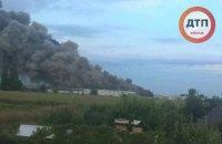 Пожежу на птахофабриці під Васильковом загасили