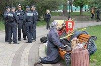 """У Рады снесли палатки протестующих против """"кода сатаны"""""""