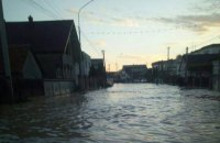 В селе на Закарпатье после сильного ливня подтопило 100 дворов