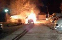 Колишній голові Коцюбинського спалили автомобіль
