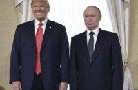 Путин пообещал Трампу содействовать в расследовании вмешательства РФ в американские выборы