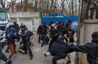 Полиция Одессы задержала 19 человек за участие в массовой драке на стройке в Аркадии