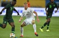 Україна зіграла внічию у товариському матчі зі збірною Нігерії (оновлено)