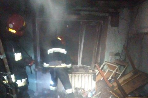 В Виннице горело общежитие транспортного колледжа