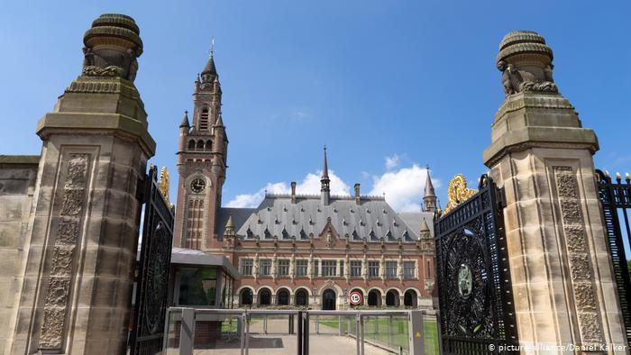 Палац миру в Гаазі, де засідає Постійна палата Міжнародного третейського суду (Міжнародний комерційний арбітраж)