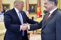 Трамп заверил Порошенко в поддержке Минских договоренностей