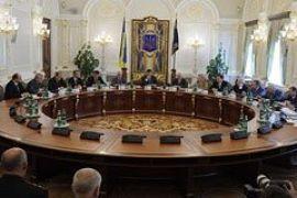 В графике Януковича нет заседания СНБО