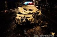 У Харкові двоє людей загинули і троє травмувалися в ДТП за участю патрульного автомобіля